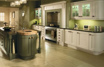 Modern Contemporary Classic Madison Painted Ivory & Olive